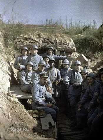 Война в цвете первая мировая война в