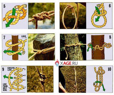 Десять способов завязать узел