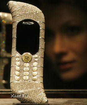 13 самых дорогих сотовых в мире