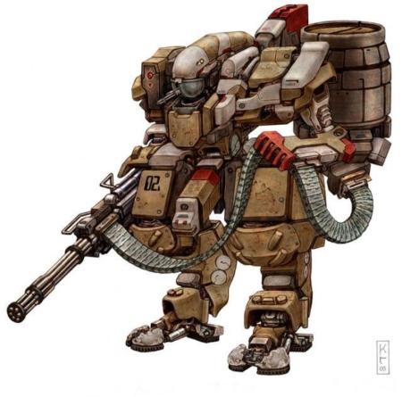 фантазирующих на тему боевых роботов ...: xage.ru/boevyie-robotyi-buduschego-1