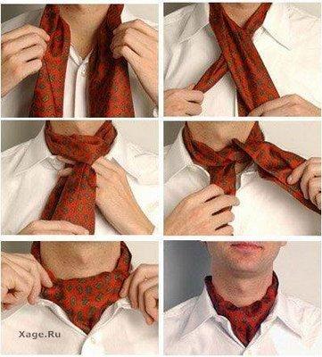 Как завязать галстук, бабочку,