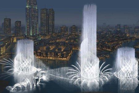 Самый большой фонтан в мире!!!!