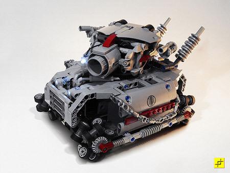 Лего танк как делать