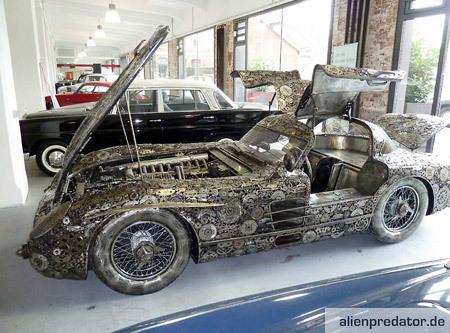 Как из металлолома сделать автомобиль