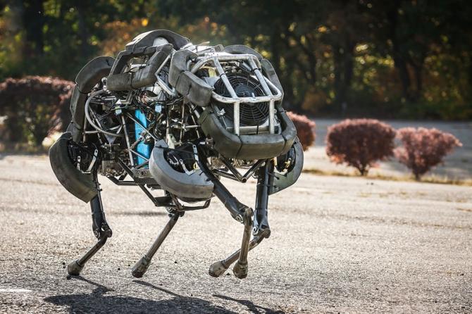 Как сделать робота который может ходить